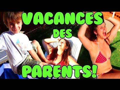 LES VACANCES DES PARENTS! - ANGIE LA CRAZY SÉRIE -