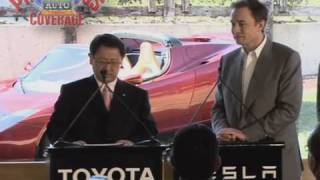 Toyota and Tesla Announce Collaboration on Electric Cars
