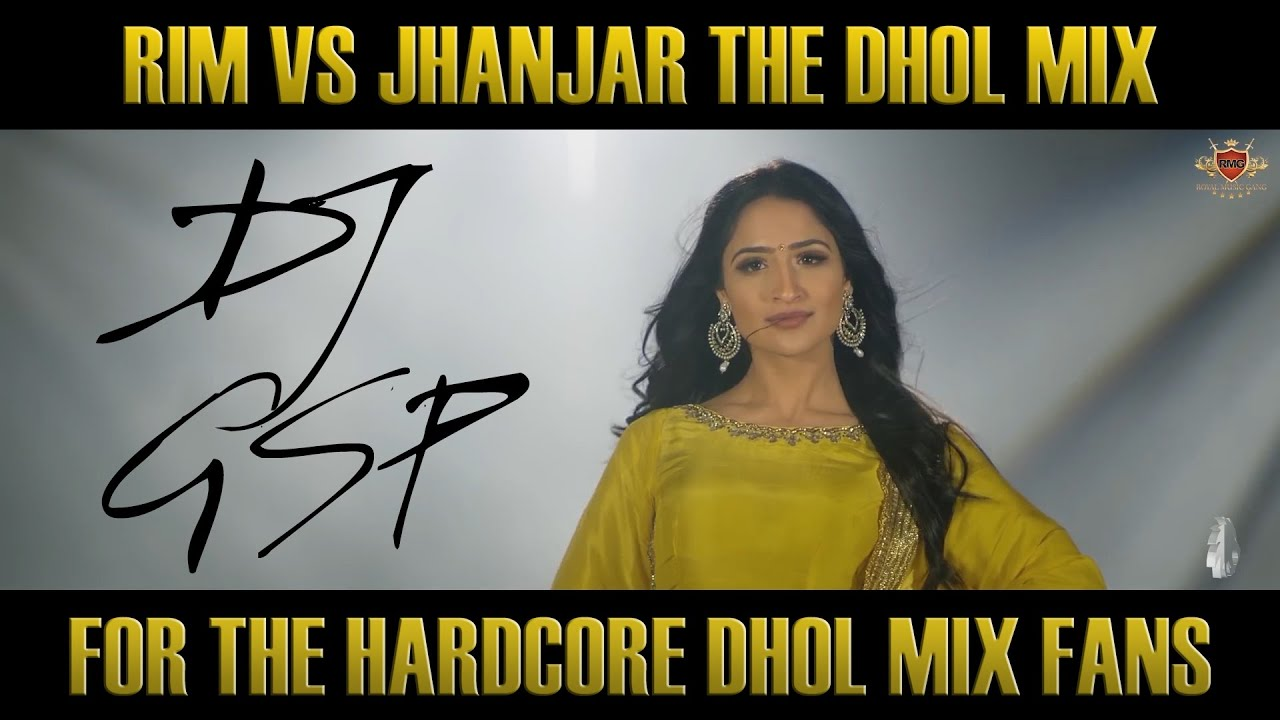 Rim VS Jhanjar DHOL MIX | Bhangra Mix | Dhol Remix | Karan Aujla | DJ GSP | [THE G MIX]