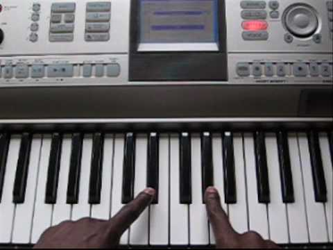 """How to Play """"Anytime"""" on Piano by Brian McKnight"""