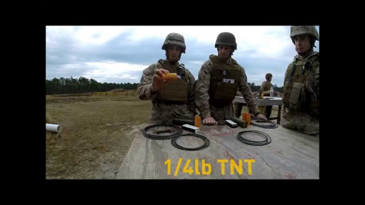 USMC Combat Engineer School part1 - YouTube