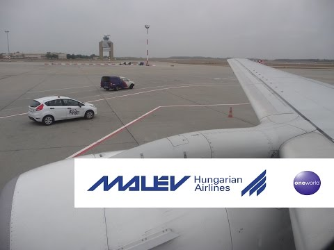 Take off 737-700 MALEV Budapest paris CDG