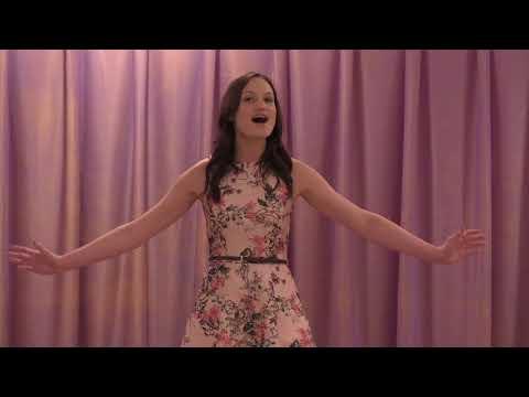 Katie Roberts sings