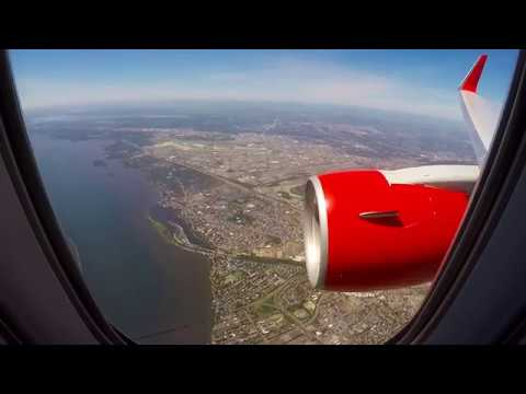 Landing At Montreal Trudeau Airport (YUL) - Air Canada Rouge - B767