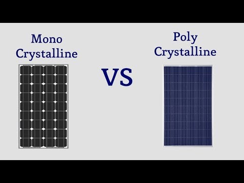 Mono vs Poly solar panels  – What's the Difference?