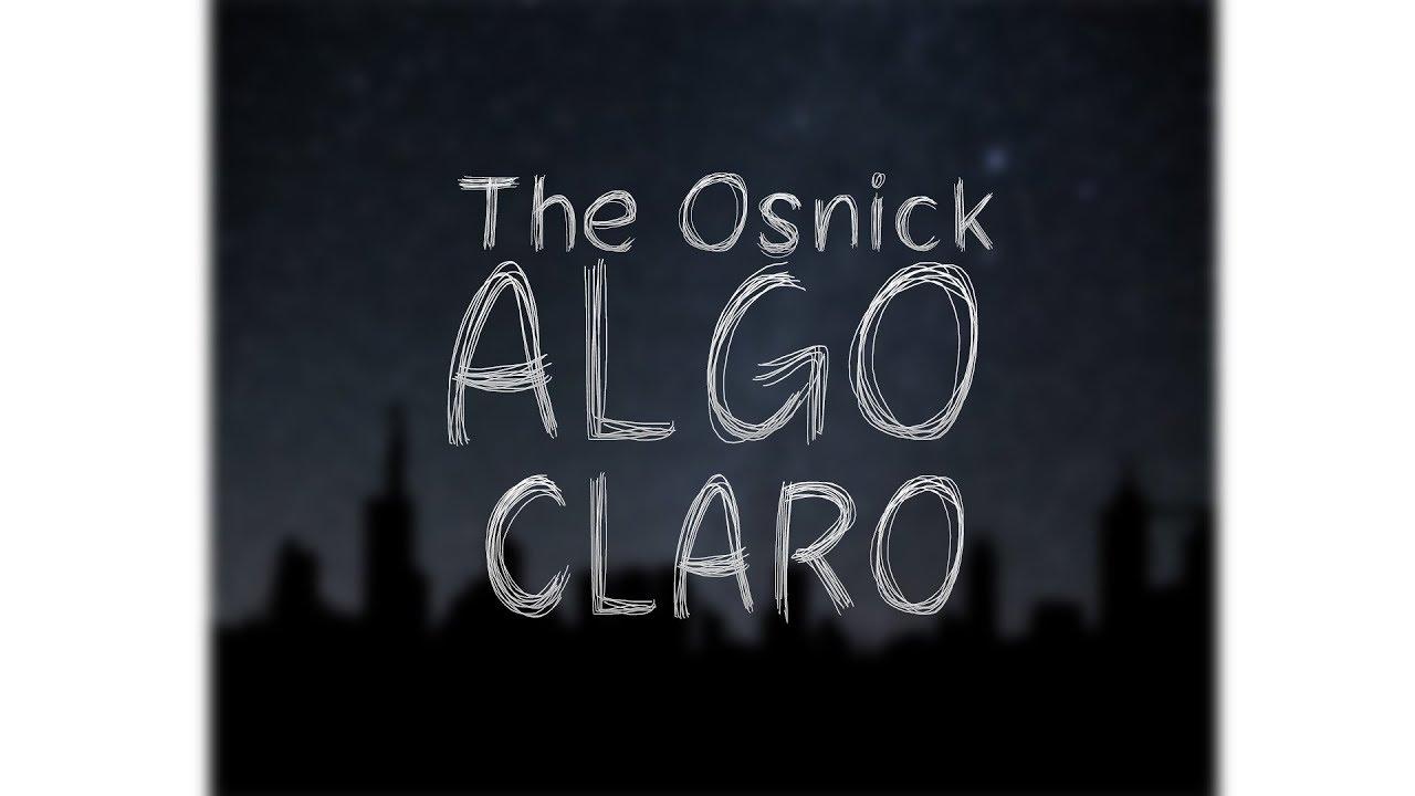 Download OSNICK - ALGO CLARO | RAP ARGENTINO
