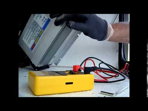 Troubleshooting a RV Power Converter - YouTube