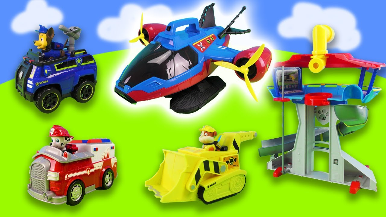 Paw Patrol Mission Paw - Mighty Pups Rescue Team Rubble, Skye Training Day - Rescue Episodes