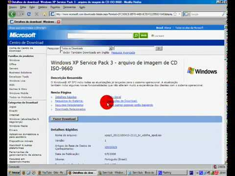 HowTo - Upgrade Windows XP to Service Pack 3 (free)