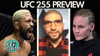 DC & Helwani Preview UFC 255 | ESPN MMA