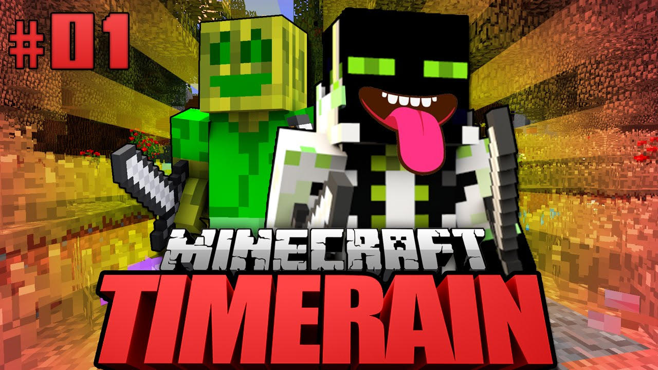 ZURÜCK In Die ZUKUNFT Minecraft Timerain DeutschHD YouTube - Minecraft timerain spielen