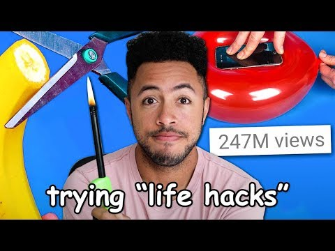 Trying 5-Minute Crafts's Awful Life Hacks
