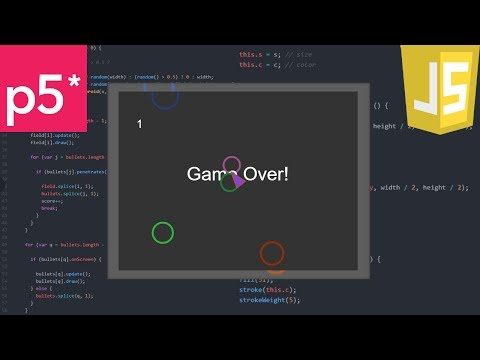 A Game A Day 15 - JavaScript Asteroids!