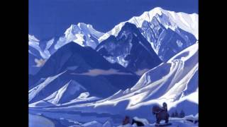 Nikolay Roerich and Lama Karta - Mantra of Mahakala