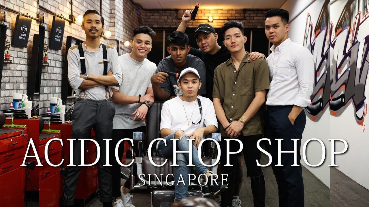 Acidic Chop Shop SINGAPORE   Quincy Colour Chaos (Grey) Review