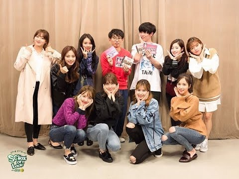 "【TWICE】''SCHOOL OF LOCK"" 日本ラジオ初出演! TWICE first radio appearance in Japan! 171019"