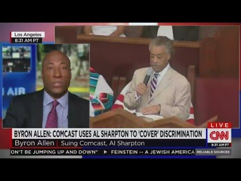 Al Sharpton, Comcast sued for racial discrimination