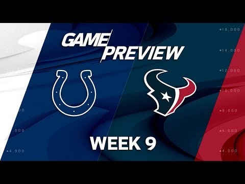 Indianapolis Colts vs. Houston Texans | Week 9 Game Preview | Total Access