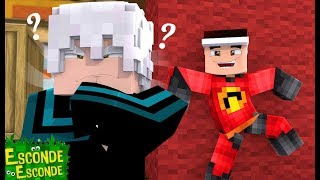 Minecraft: OS INCRÍVEIS 2!! - ( ESCONDE ESCONDE )   ‹Wezz›