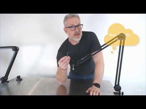 Gator Podcast Broadcast Desktop Microphone Arm Boom Stand Review for BM1000 BM2000 BM3000