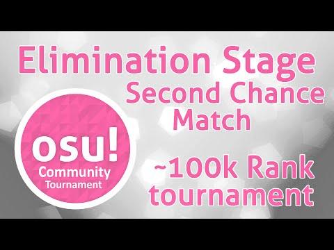 osu! ~100k Rank Community Tournament (OCT I) Second Chance Match