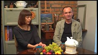 текстильный коллаж Виктора и Елены Дерда 2 ч.