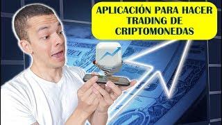 Como hacer trading de criptomonedas desde el celular | App TabTrader en español