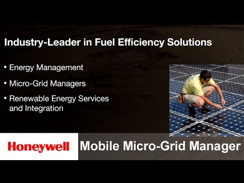 Honeywell's Mobile Micro-Grid Manager | Defense & Space | Honeywell