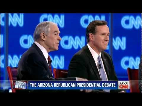 CNN Arizona Republican Presidential Debate at Mesa Arts Center - February 22, 2012