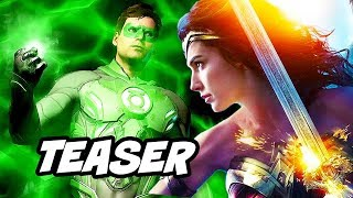 Justice League Green Lantern Teaser - Wonder Woman 2 and Major DC Changes Explained