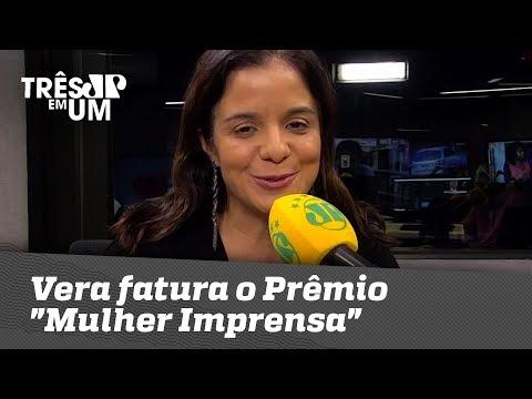 Vera Magalhães Fatura O Prêmio