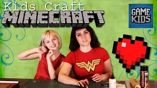 Minecraft Hearts - Kids Craft