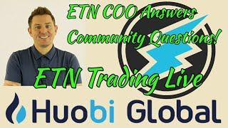 Electroneum 5Million ETN Trading Competition! ETN Answer Some Great Questions From Community!
