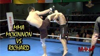 MMA - Mckinnon vs Richard