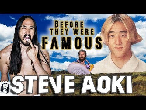 STEVE AOKI - Before They Were Famous - DJ AOKI