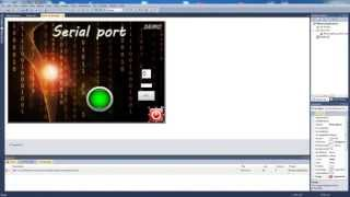 How to use serial port (rs232) in Visual Basic 2010 (using PIC)