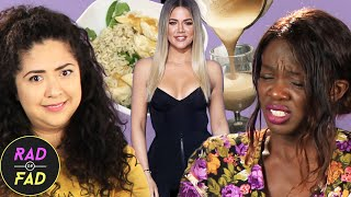 Friends Try Khloé Kardashian's Diet For A Week