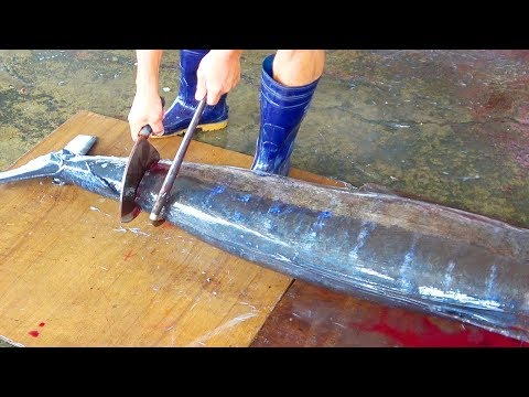 A Whole Swordfish Cutting - Taiwan