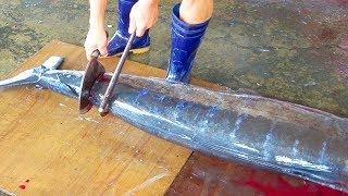 A Whole Swordfish Cutting - Taiwan