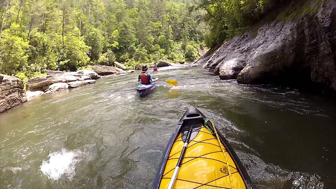 Chattooga River Section Iii Whitewater Canoeing And