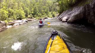 Chattooga River Section III: Whitewater Canoeing and Kayaking, June 2013