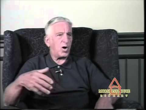 Vinci World War II veteran U.S. Army Natick Veterans Oral History Project