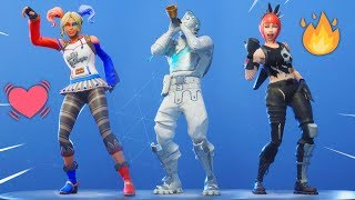 *NEW* Custom MODDED Fortnite SKINS Showcase With Leaked EMOTES..!!