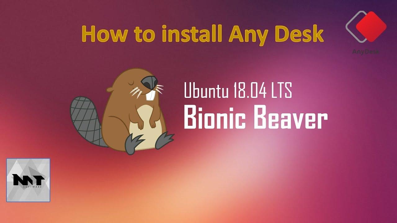 How to install AnyDesk on Ubuntu 18 04