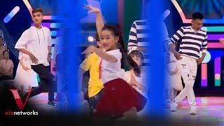 Hot girl Nhí Dance Sport dạy nhảy cho Trấn Thành, Xuân Nghị và Mạc Văn Khoa   Nhanh như chớp Nhí