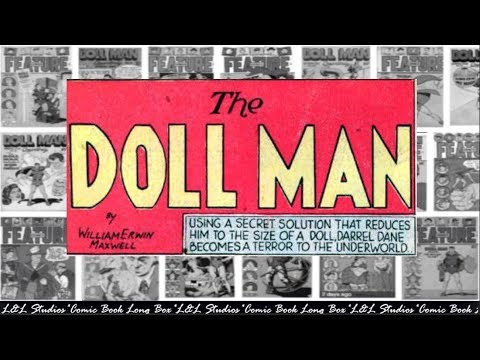 "Doll Man: ""The Metropolis Museum Mystery"", Feature Comics #29"