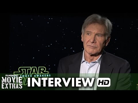 Star Wars: The Force Awakens (2015) Official Movie Interview - Harrison Ford is 'Han Solo'