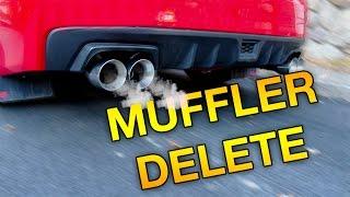 homepage tile video photo for 2016 WRX Nameless Muffler Delete Install w/sound clips