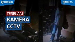 Seorang Pencuri Terekam Kamera CCTV Saat Lakukan Aksinya Di Sebuah Kos Di Surabaya