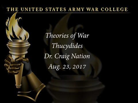 Theories of War: Thucydides